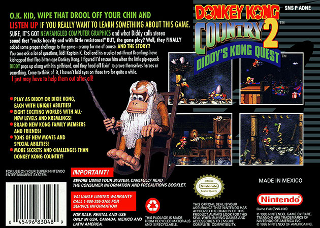 snes_donkeykongcountry2_back